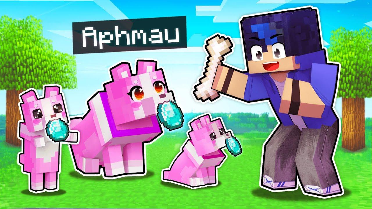 My SECRET Girl Puppy PRANK In Minecraft!