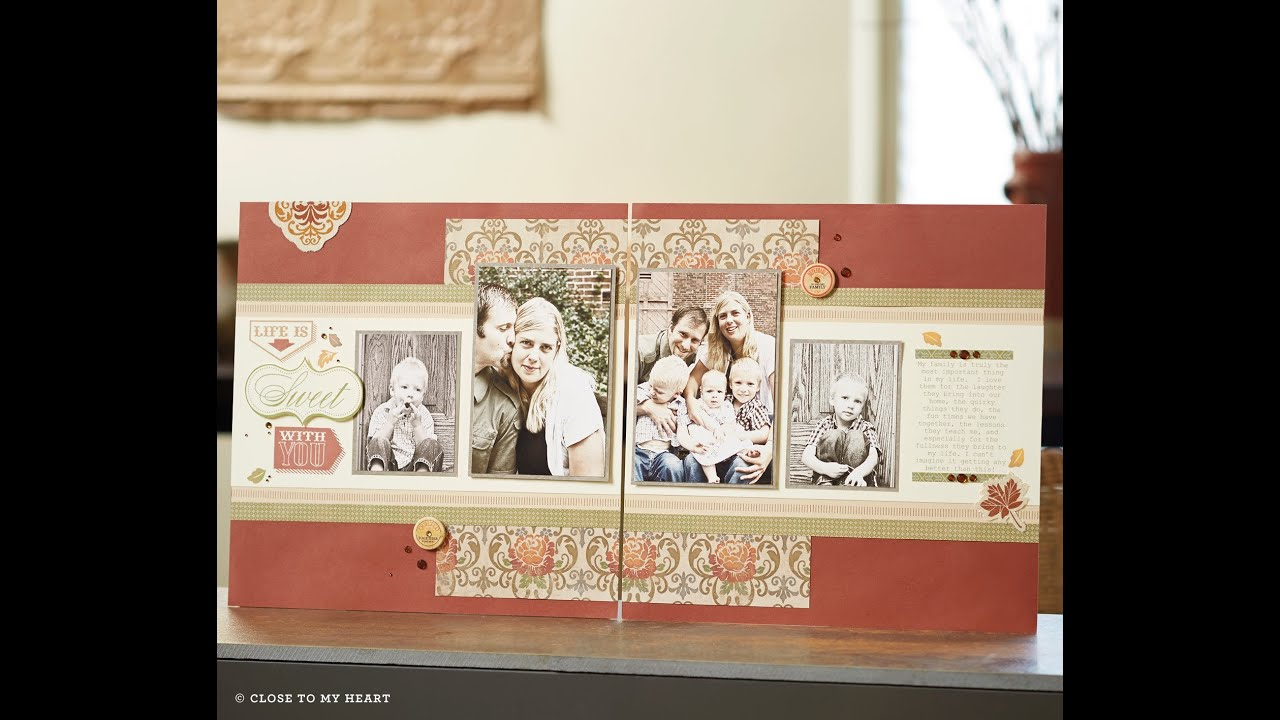 Close To My Heart Ctmh Huntington Layout Workshop On The Go Part 1