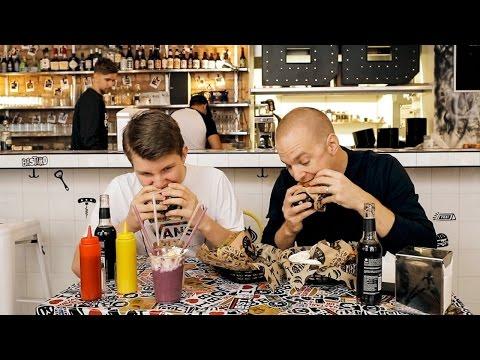 Testar Bastard Burgers med PRAO-Ture