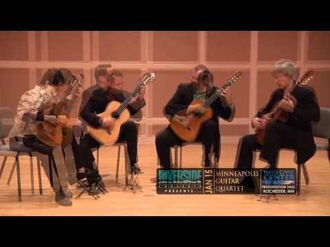 MINNEAPOLIS GUITAR QUARTET...Coming to the Mayo Civic Center in Rochester, MN - 1/15/16