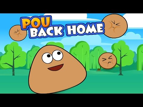 Pou Back Home Cartoon - Pou Baby Game for Kids