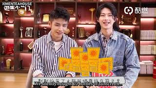 [English sub] My Youth Boys INDOOR GOSSIP Interview (Zhao Yi Qin)