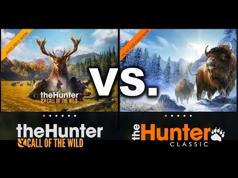theHunter COMPARISON Call of the Wild vs. Classic
