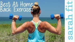 Top 3 at Home Back Exercises For Women(, 2013-07-10T07:00:13.000Z)