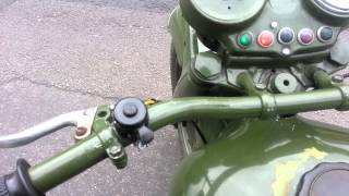 Dnepr 650 empty exhaust