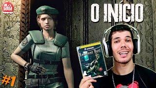 Resident Evil 1 Remake : Remasterizado - O INÍCIO, ENTRANDO NA MANSÃO  / Nostalgia: ON #1 (PS4 Pro)