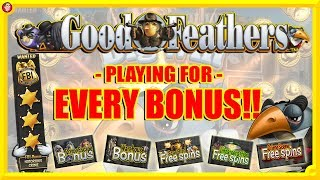🐦 THE GOOD FEATHERS SLOT CHALLENGE !!!Playing for EVERY BONUS !!!