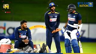 Team Sri Lanka engaged in 'under light' practices vs NZ 1st T20