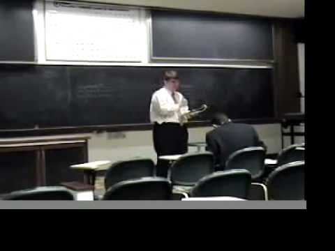 All Harvard round on Double Jeopardy in the American Parliamentary Debate Format