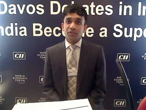 Ajay James - Davos Debates in India 2009