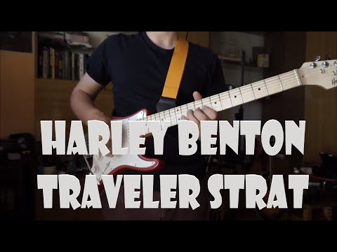 Harley Benton - ST-Travel Candy (Stratocaster Without Body)