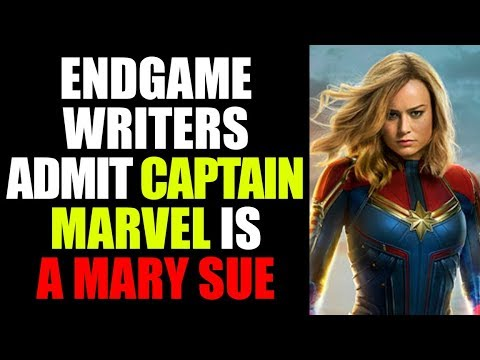 MCU - The REAL REASON Captain Marvel is NOT in Avengers Endgame MORE - Brie Larson is TOO POWERFUL
