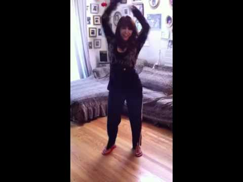 Dancing housewife