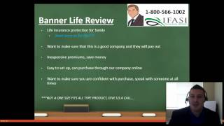 Banner Life Insurance **IMPORTANT** Banner Term Life Insurance Review