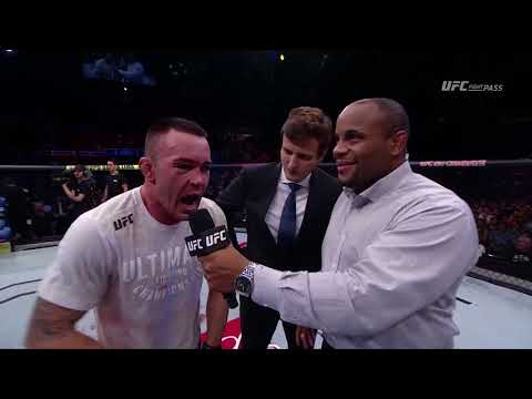 Fight Night Sao Paulo: Colby Covington Octagon Interview