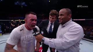 Fight Night Sao Paulo: Colby Covington Octagon Interview thumbnail
