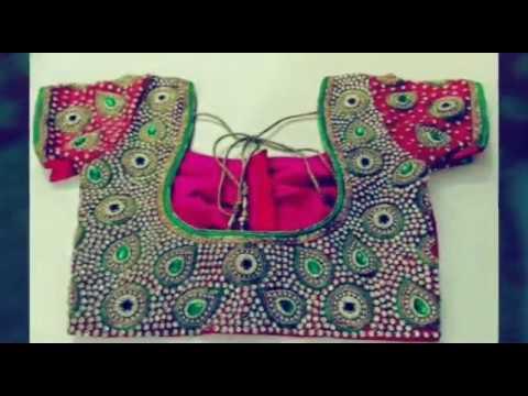 Blouse neck designs, indian saree blouse, Blouse back neck cutting images clip18