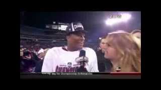 Heather Cox's Inappropriate Interview With Jameis Winston (Official) [HD]