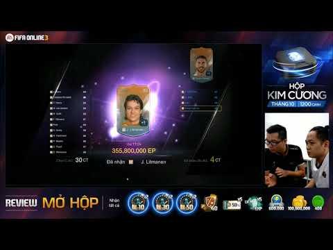[Review FIFA Online 3] Hộp Kim Cương Tháng 10 - Phần 1