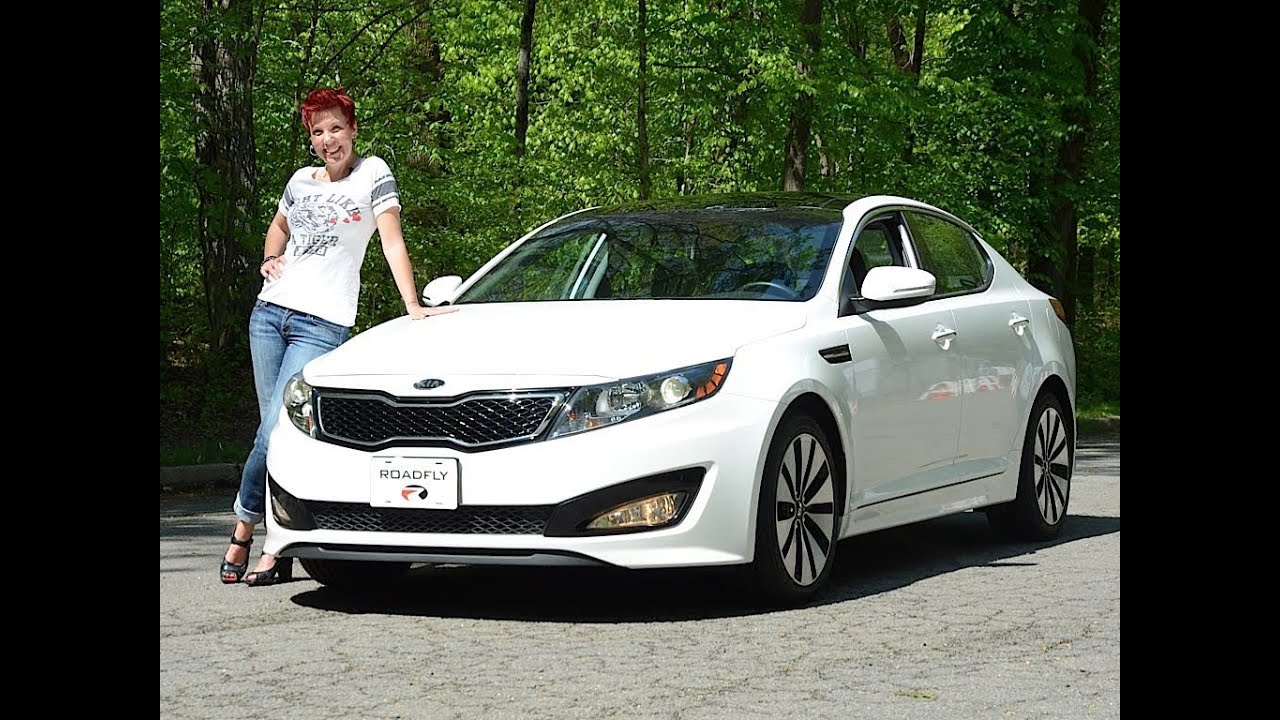Kia Optima Turbo 2011 Test Drive U0026 Car Review   RoadflyTV With Emme Hall    YouTube