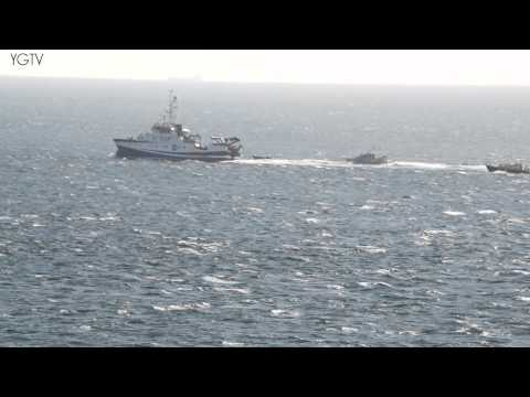 YGTV Gibraltar News Update: Spanish Oceanographic Vessel Surveys BGTW with Guardia and RGP in Tow