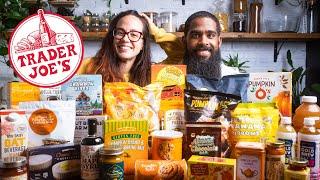 Every New Fall Vegan Item at Trader Joe's 2020 | Vegan Grocery Haul / Taste Test