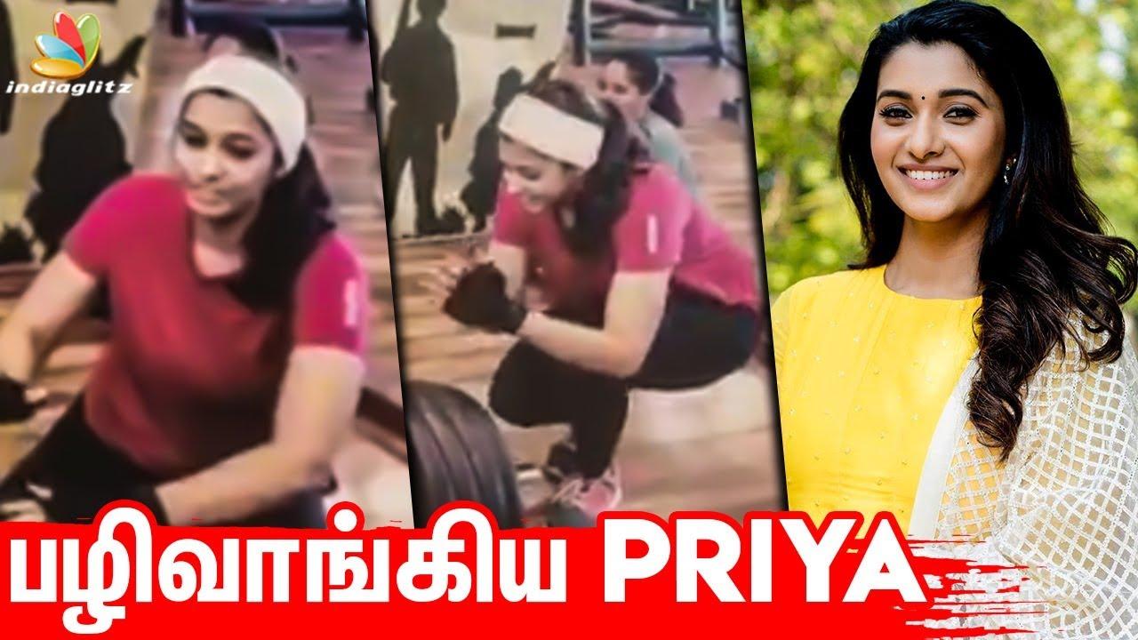 GYM Trainer ஐ பழிவாங்கிய பிரியா   Priya Bhavani Shankar Work Out Video   Hot Tamil News