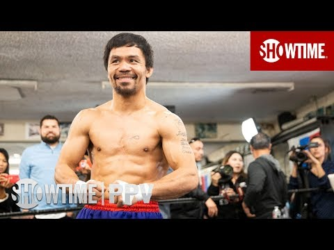 Pacquiao vs. Broner: Media Workout   Jan 19 on SHOWTIME PPV