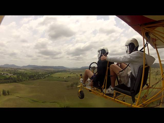 Breezy Flying at Luskintyre with Craig Gunther and Jake