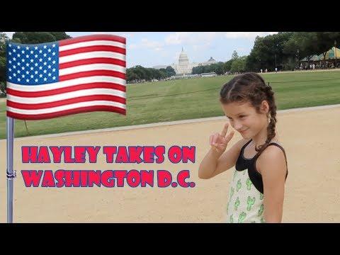 Hayley Takes on Washington D.C. 🇺🇸 (WK 346.3) | Bratayley