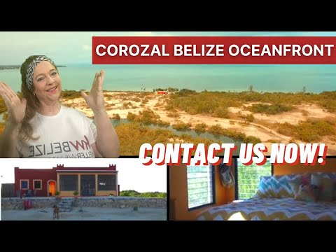 Corozal Belize Oceanfront Home for Sale