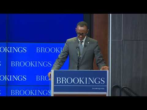 President Kagame speaks at Brookings Institute Public Lecture on AU Reform (Part1/2)