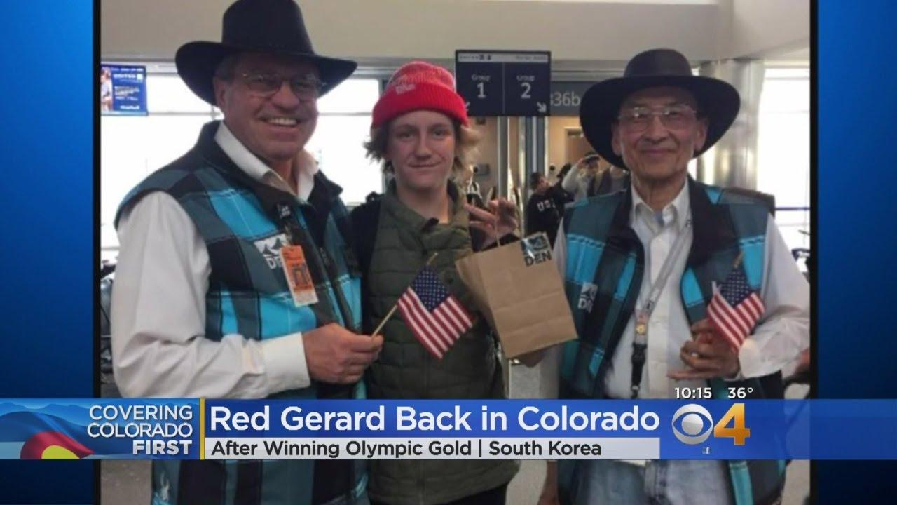 Colorado Gold Medalist Arrives Back Home