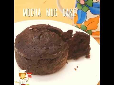 MOCHA MUG CAKE RECIPE/Coffee Cake Recipe In A Mug/Egg Less And Without Oven/15 Mins Cake Recipe
