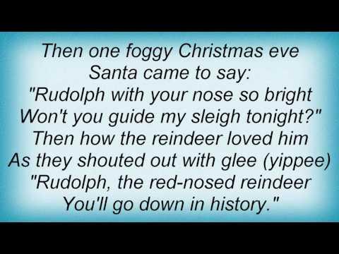 Jack Johnson - Rudolph The Red-Nosed Reindeer Lyrics