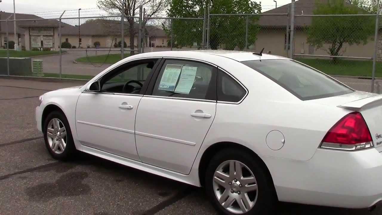 2013 chevrolet impala lt [ 1280 x 720 Pixel ]