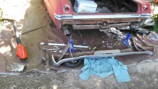 Impala bumper removal 2