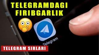 Telegramda firibgarlik qilish