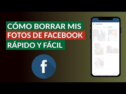 Cómo Borrar mis Fotos de Facebook Desde mi Celular - Rápido y Fácil