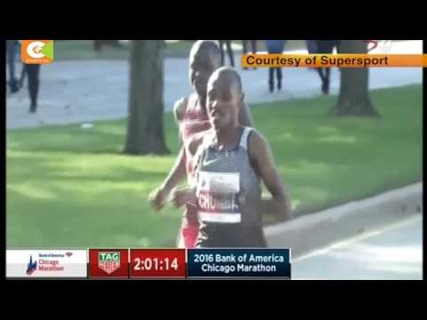 Kenya's Asbel Kirui, Florence Kiplagat win the Chicago Marathon