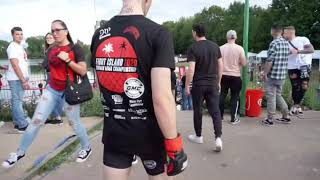 Behind the Scenes mit Maurice Adorf GMC Fight Night