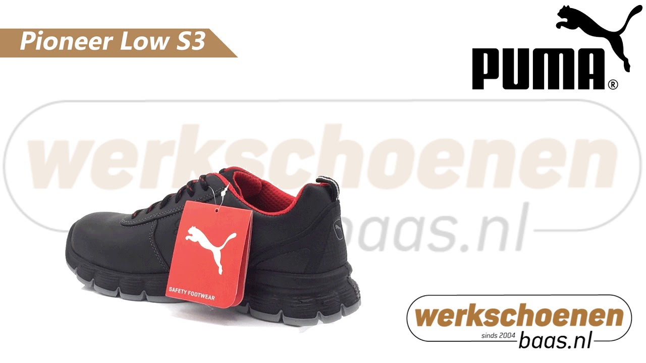 Caterpillar Werkschoenen S3.Puma Pioneer Low S3 Youtube