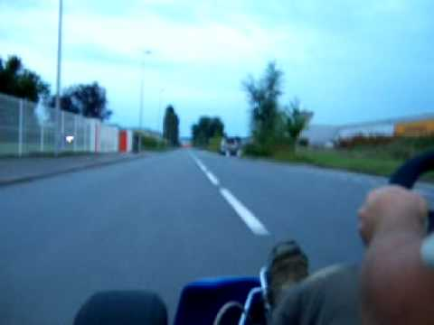 Videos Starring A Hayabusa Engine Fitted On A Go Cart!   Top