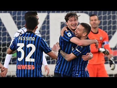 Аталанта - Интер 1:1 обзор матча ( гол Миранчука ) / Atalanta - Inter Milan 1:1