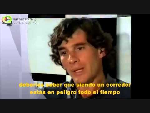 Fragmentos de la entrevista de Jackie Stewart a Ayrton Senna