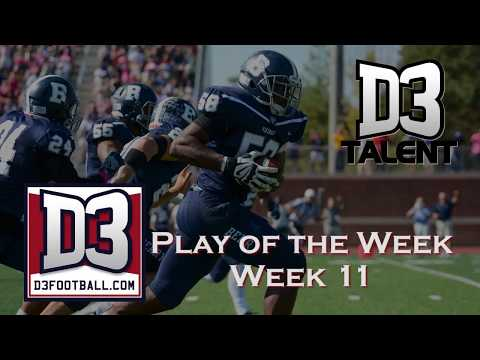 D3football.com Play of the Week: Bracket Busting Block