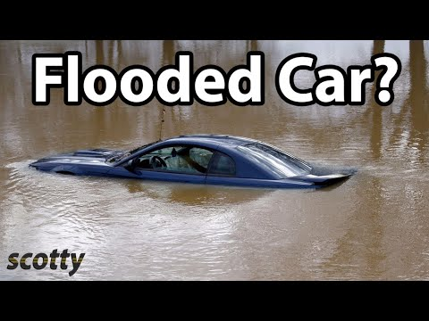 How To Save A Flooded Car