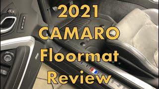 2021 Camaro 3D MAXpider Kagu Floormats Review