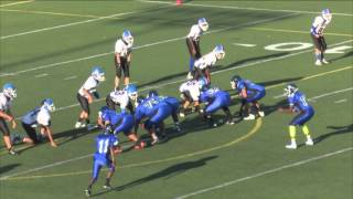 Wnton Woods vs Pleasant Run Middle School 8th Grade Football Game of September 24, 2015