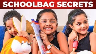 ROWDY BABY: Manasvi's School Bag Secrets Revealed! What's Inside The School Bag?